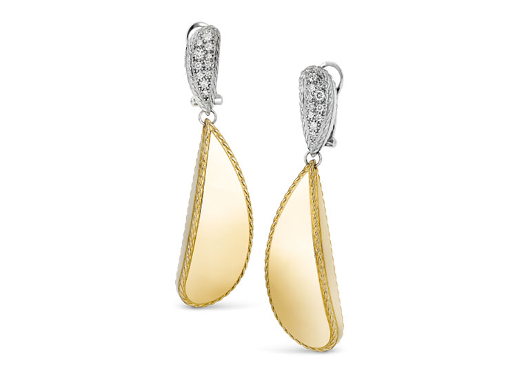 Roberto Coin Gourmette earrings