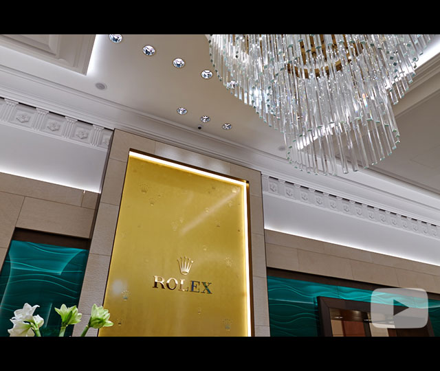 Grand Opening of the Rolex Boutique in Budapest