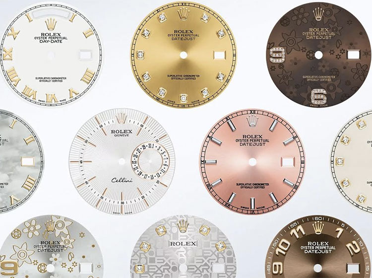Oyster Dials