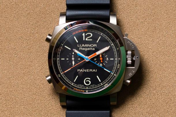 Luminor 1950 Regatta 3 Days Chrono Flyback Titanio 47mm
