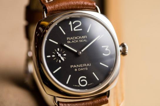 Officine Panerai Radiomir Black Seal 8 Days Acciaio