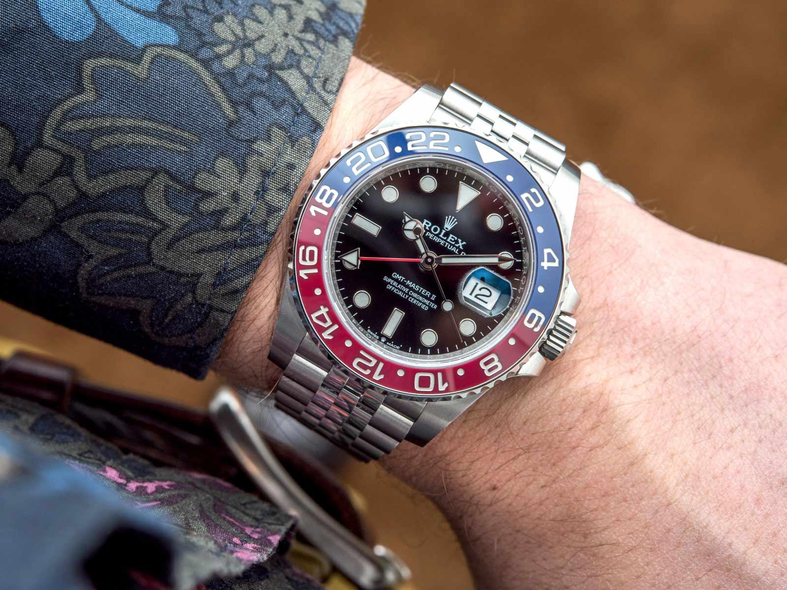 Novi Rolex GMT-Master II 126710BLRO