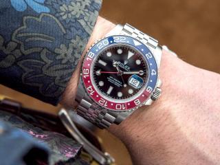 Új Rolex GMT-Master II 126710BLRO