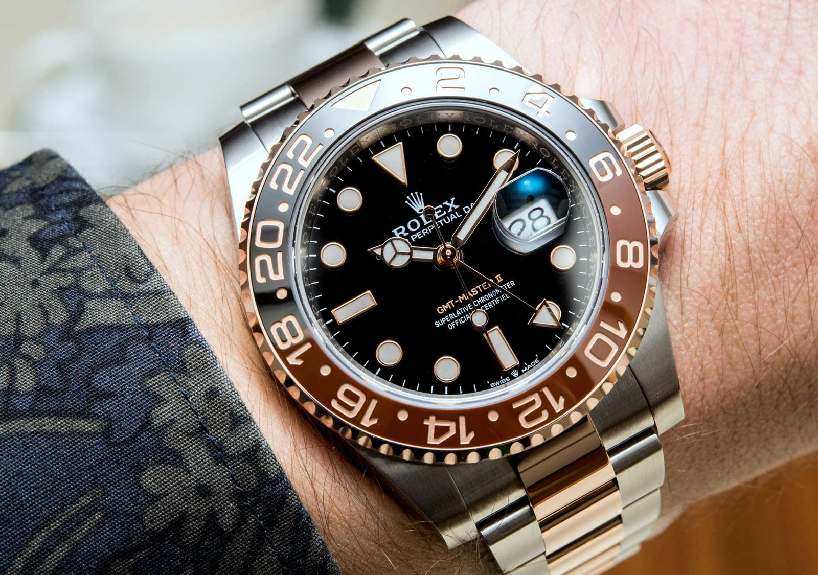 Image result for THE ROLEX GMT-MASTER II EVEROSE REFERENCE 126715CHNR