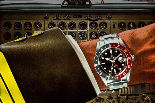 Rolex GMT-Master glorious history