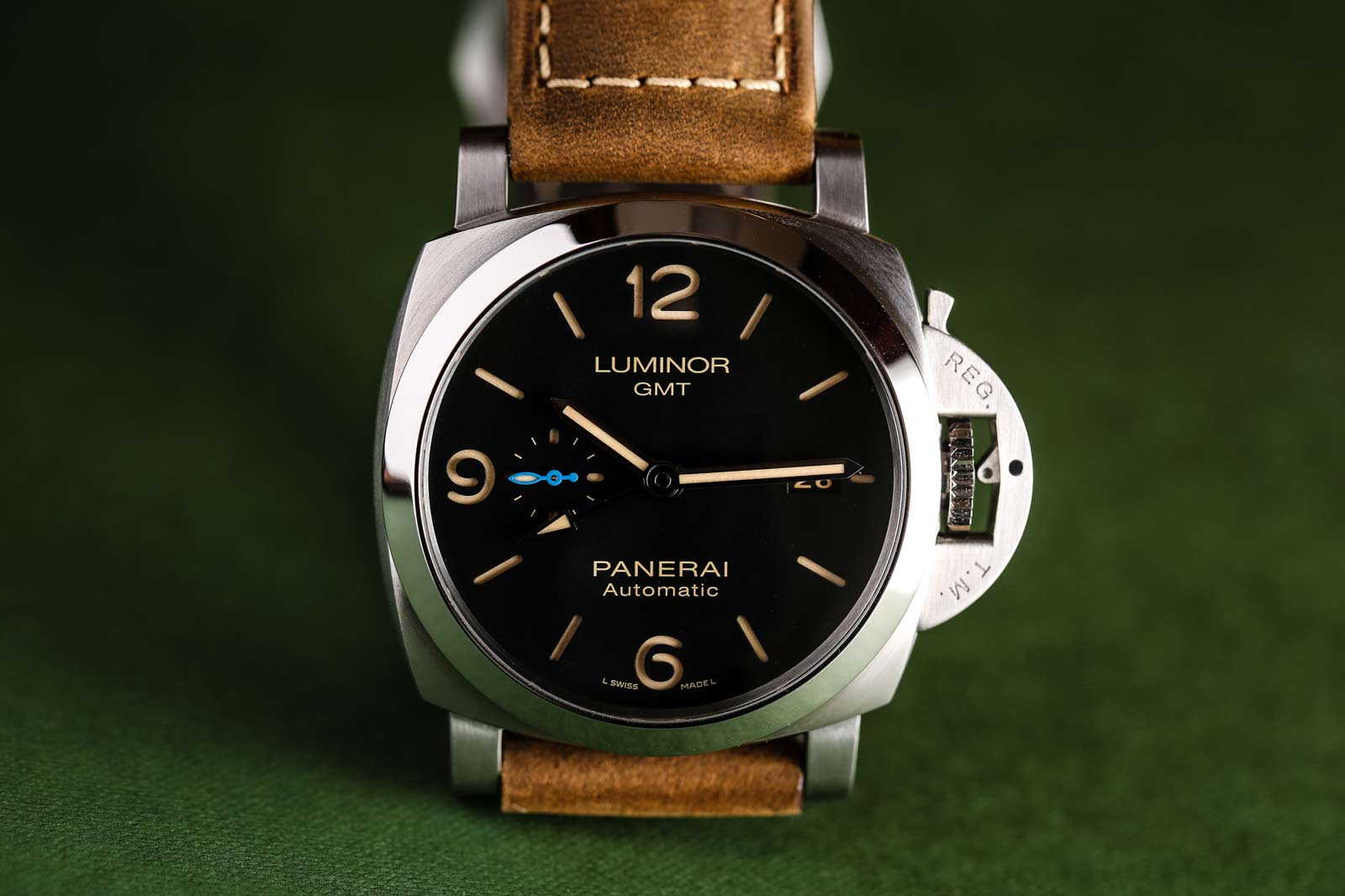 Panerai Luminor 1950 3 Days GMT Automatic Acciaio 44 - PAM01320