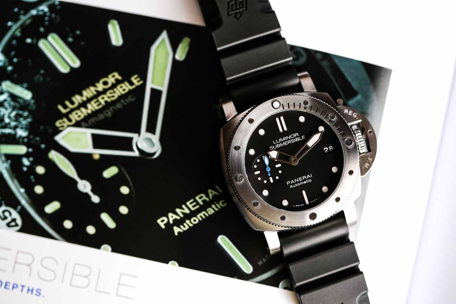 Panerai Luminor Submersible 1950 3 Days Automatic Acciaio 42 - PAM00682