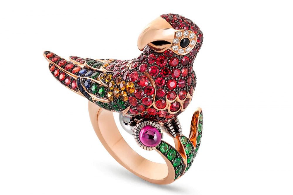 Roberto Coin Animalier kolekcija - Parrot prsten