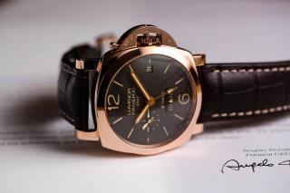 Panerai Luminor 1950 8 Days GMT Oro Rosso – PAM 00576