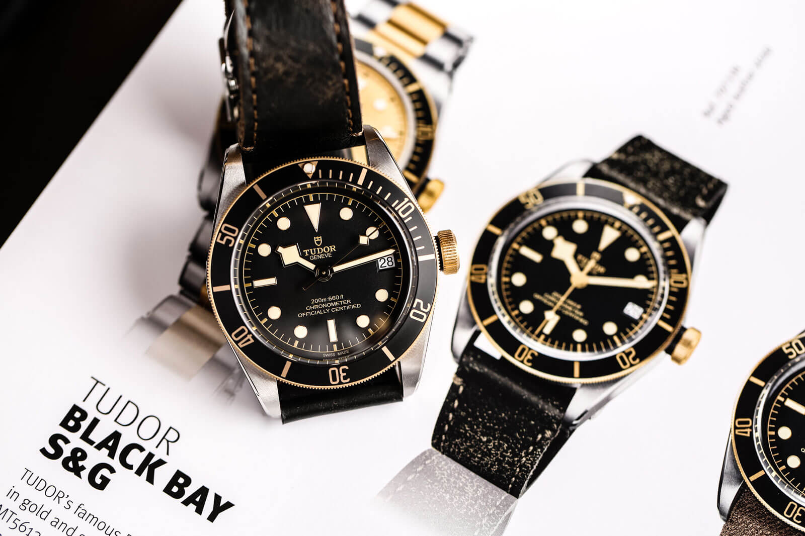 Tudor Heritage Black Bay Steel & Gold