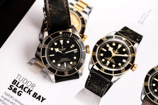 Tudor Heritage Black Bay Steel & Gold