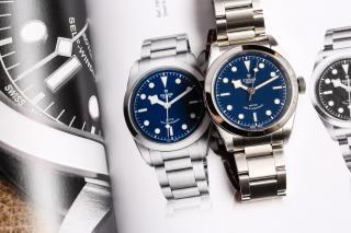 Tudor Black Bay 41, 36, 32 mm – Blue dial