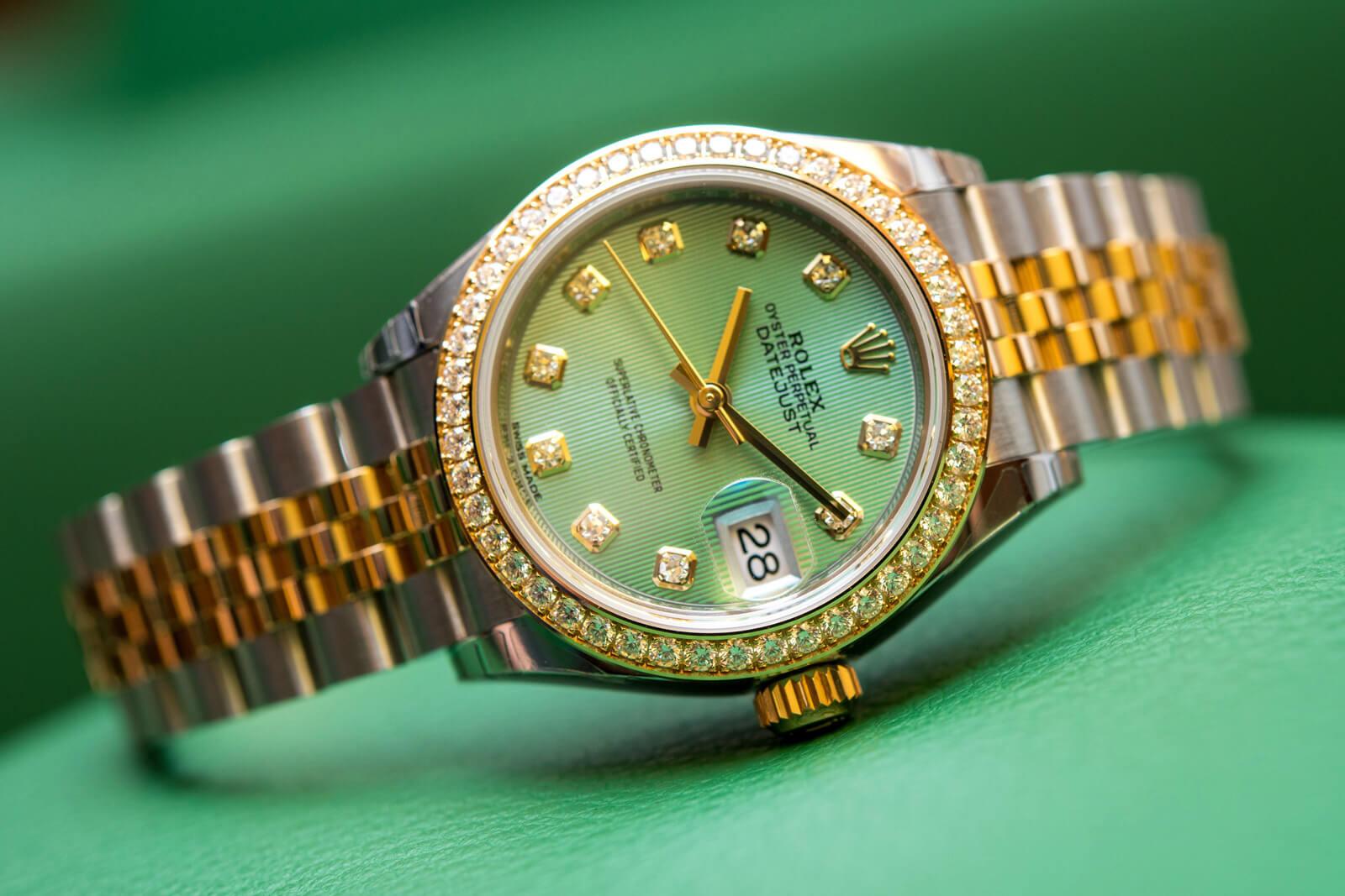 Rolex Lady-Datejust 28 - Mint brojčanik