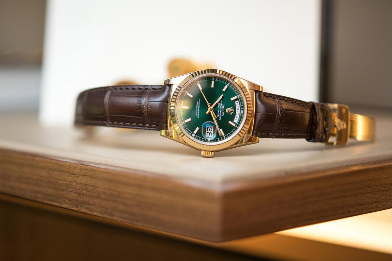 Rolex Day-Date 36 - Ref. 118138