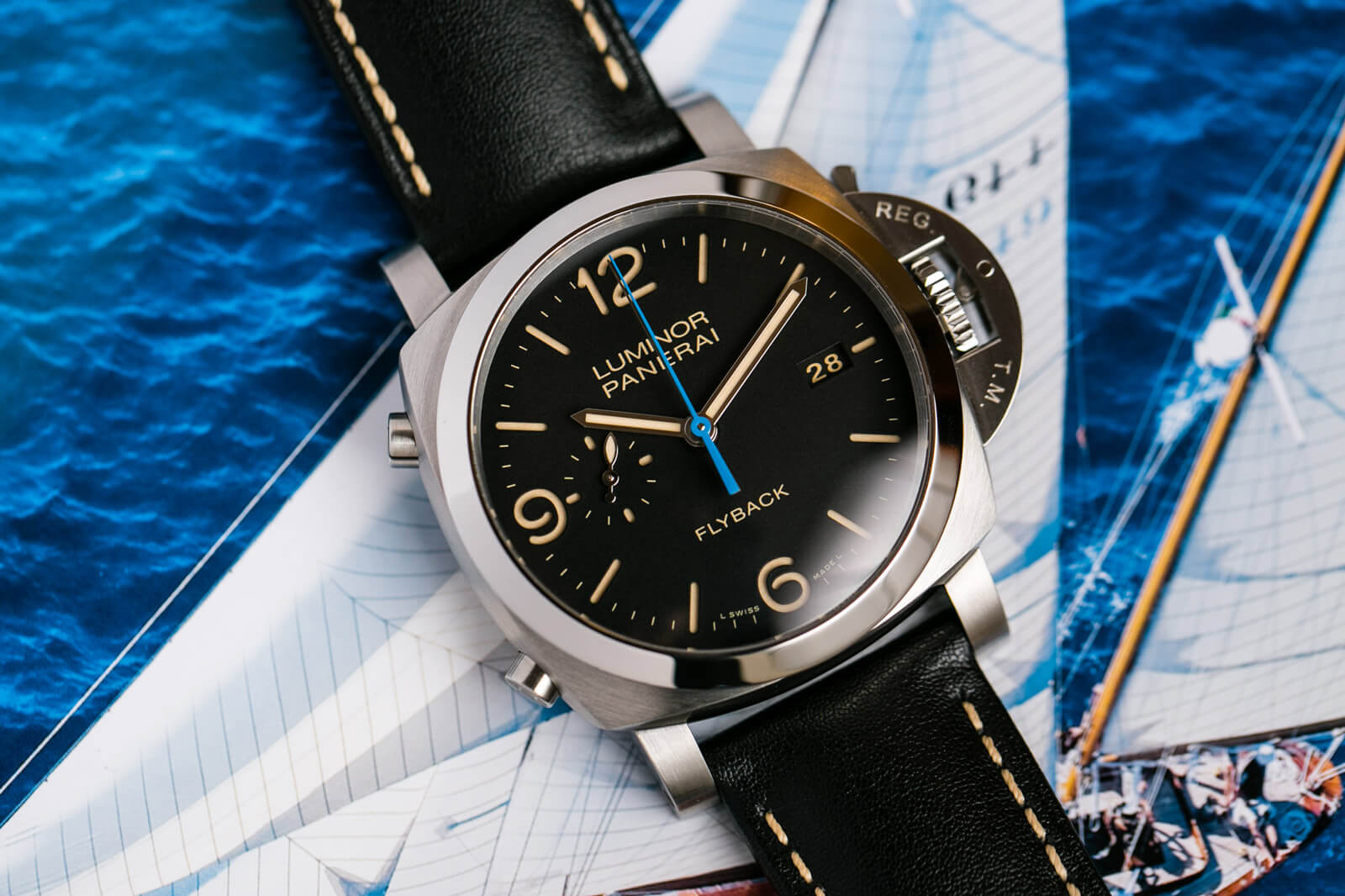 Panerai Luminor 1950 3 Days Chrono Flyback  Automatic Acciaio - PAM00524
