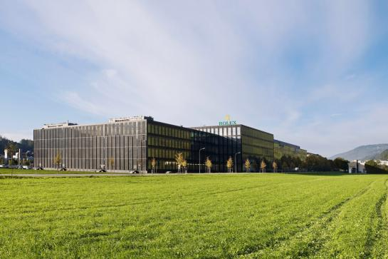 Rolex manufacture - Bienne