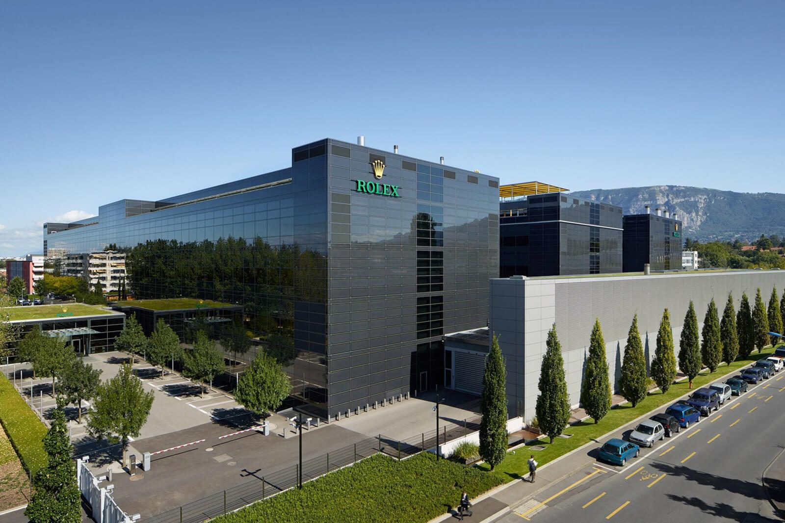 Rolex manufaktúra - Plan-les-Outes