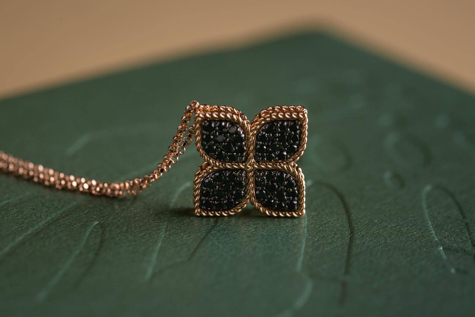 Roberto Coin Princess Flower – crni dijamanti