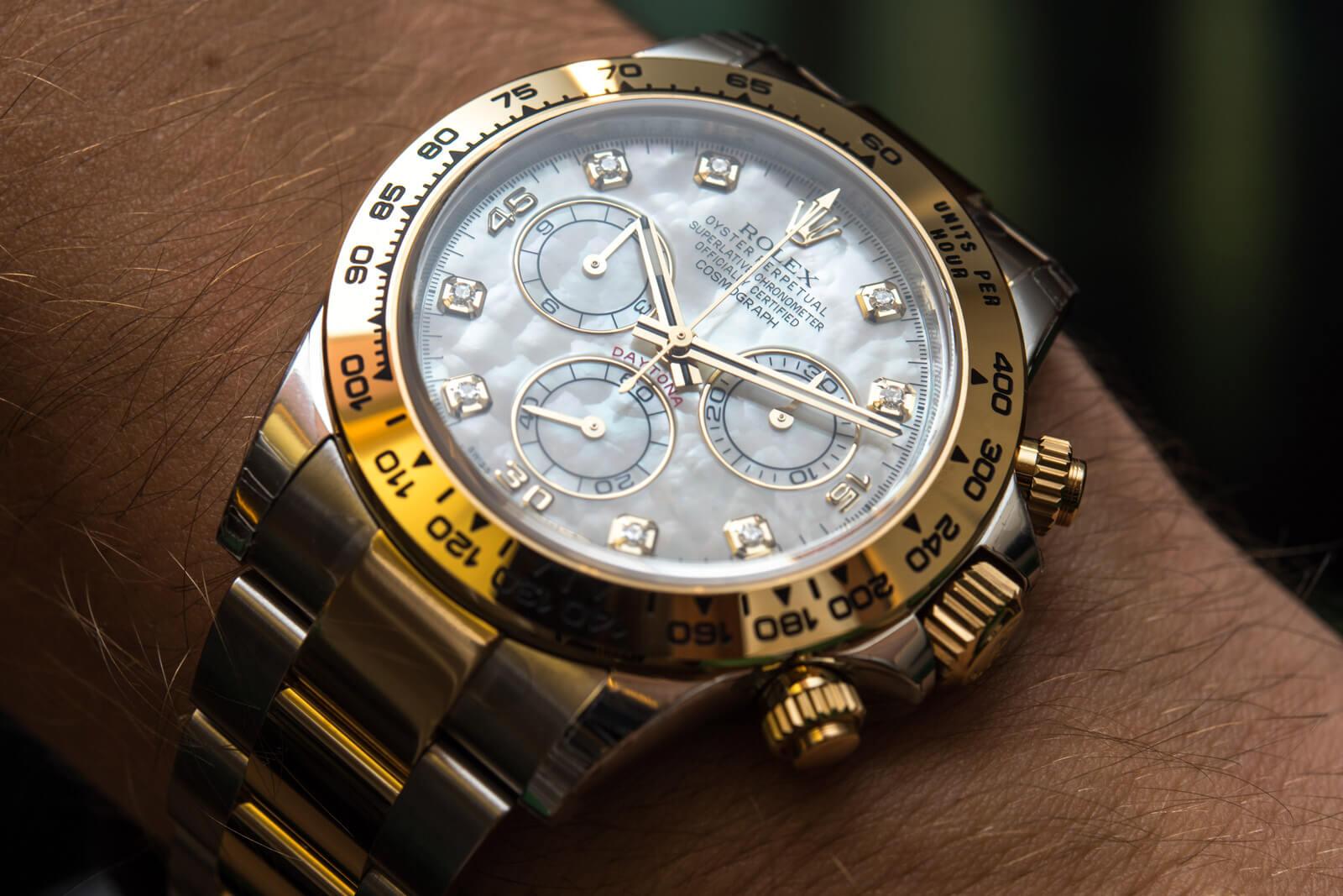 Rolex Daytona Ref. 116503 - Bijeli biser sa dijamantima
