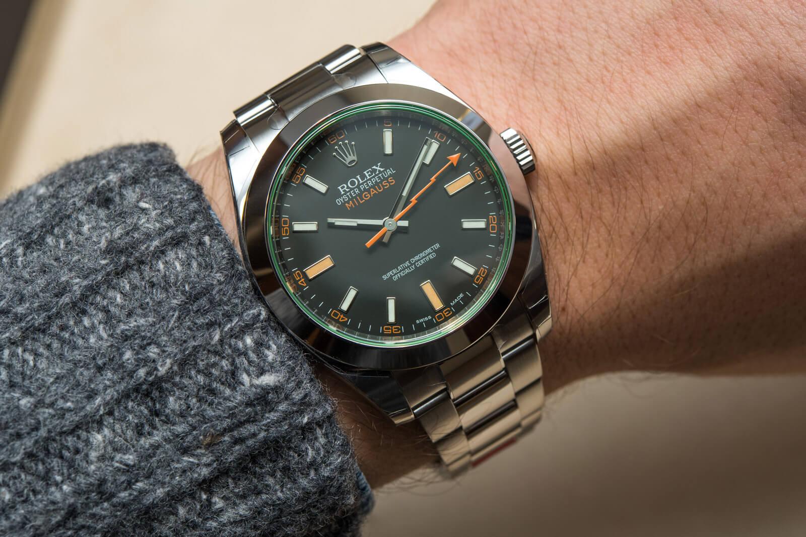 Rolex Milgauss – Crni brojčanik