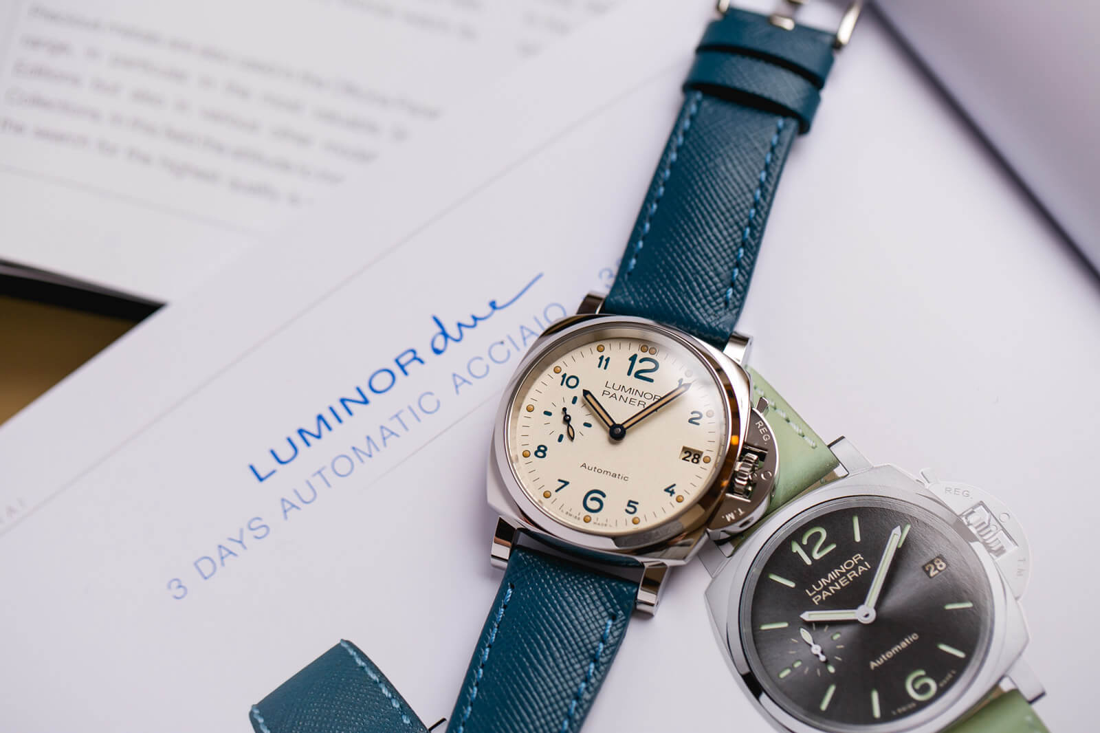 Panerai Luminor Due 38mm – PAM00903