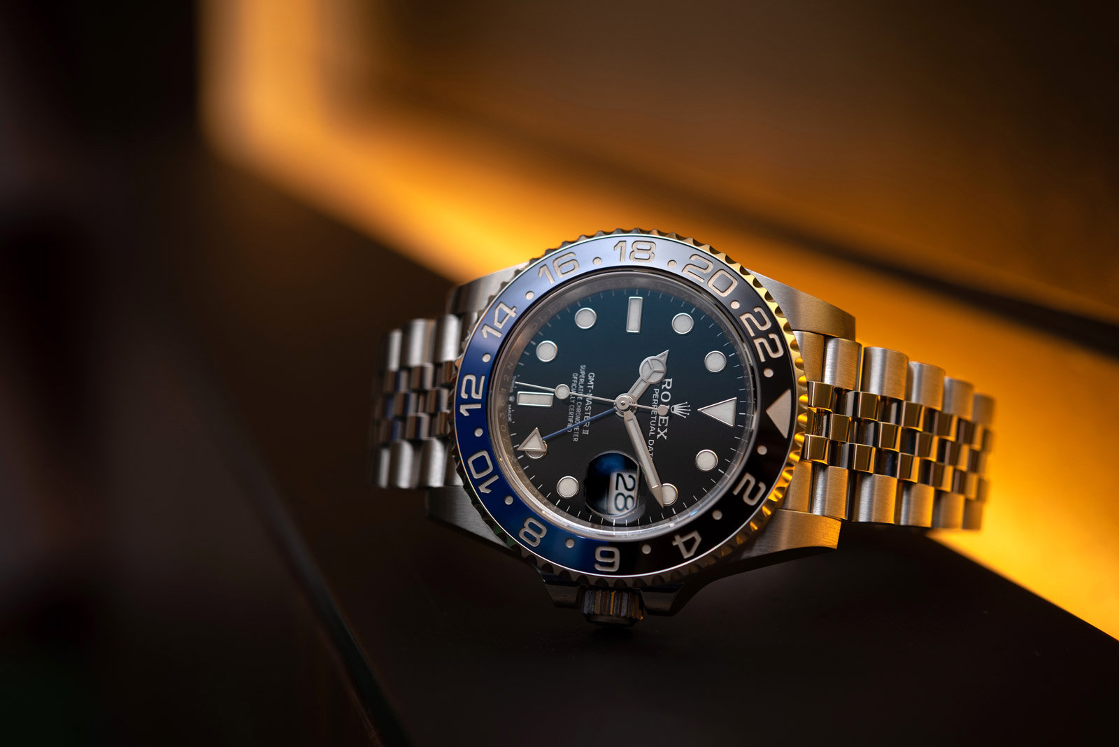 Rolex GMT-Master II <br> Reference 126710BLNR