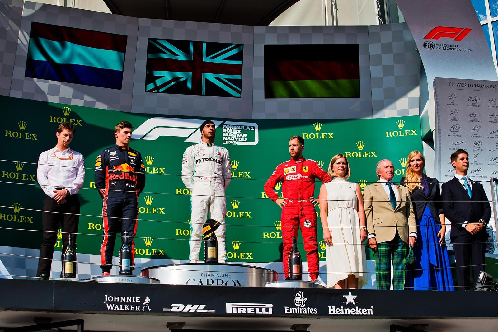 Sir Jackie Stewart & Formula 1  ® Rolex Magyar Nagydíj 2019