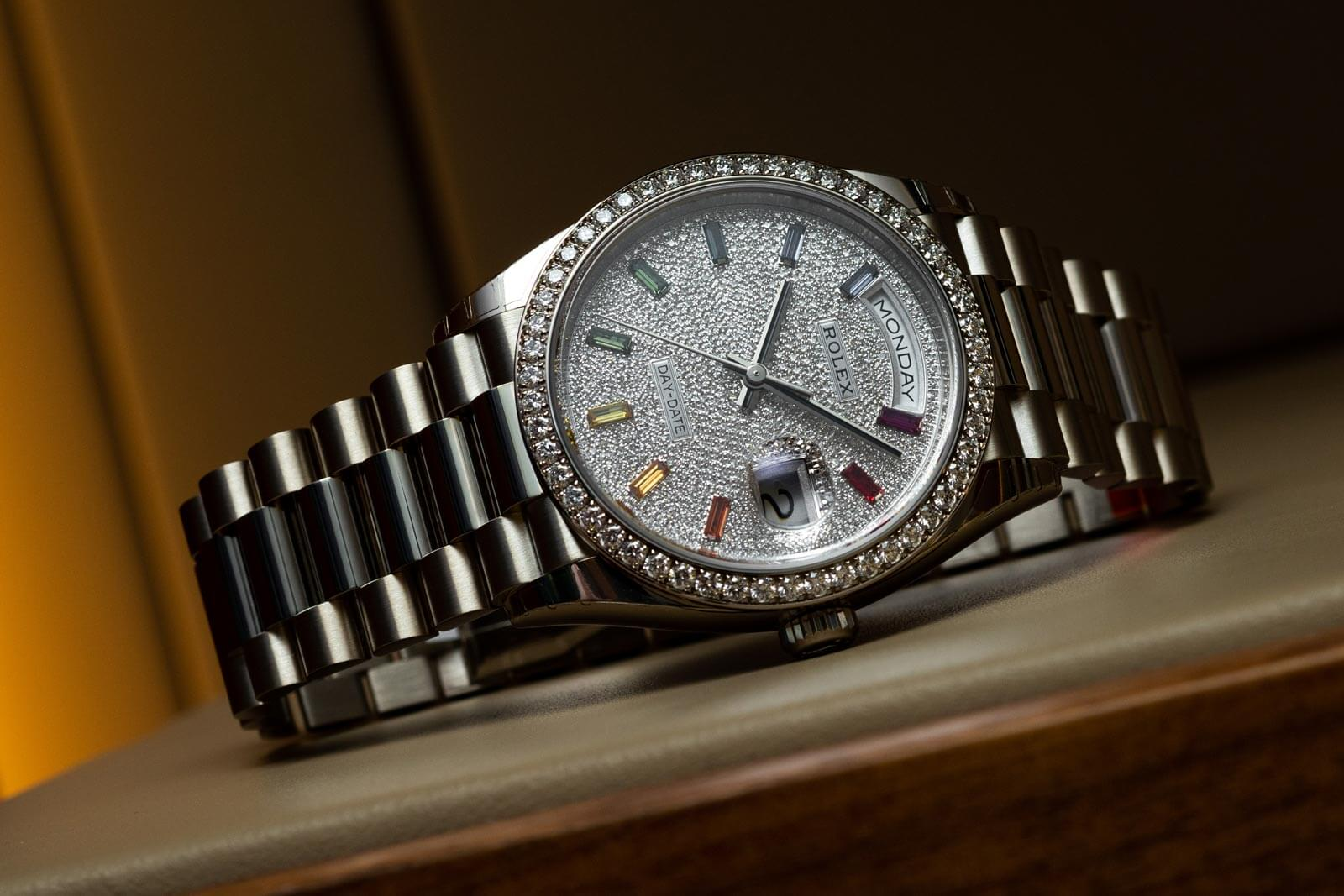 Rolex Day-Date 36 <br> Reference 128349RBR