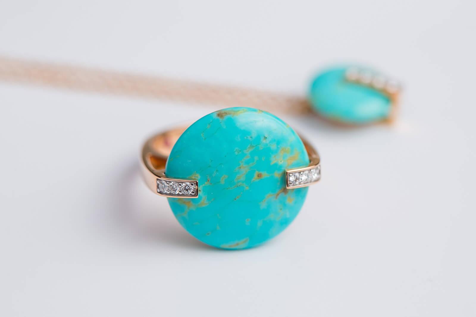 Roberto Coin Colored Treasure Turquoise
