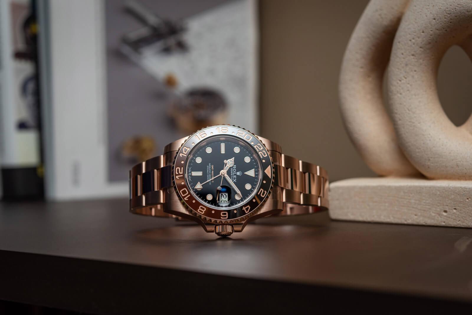 Rolex GMT-Master II Everose <br> Reference 126715CHNR