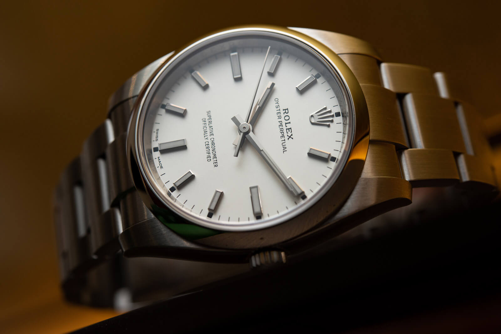 Rolex Oyster Perpetual 34 - Ref. 114200