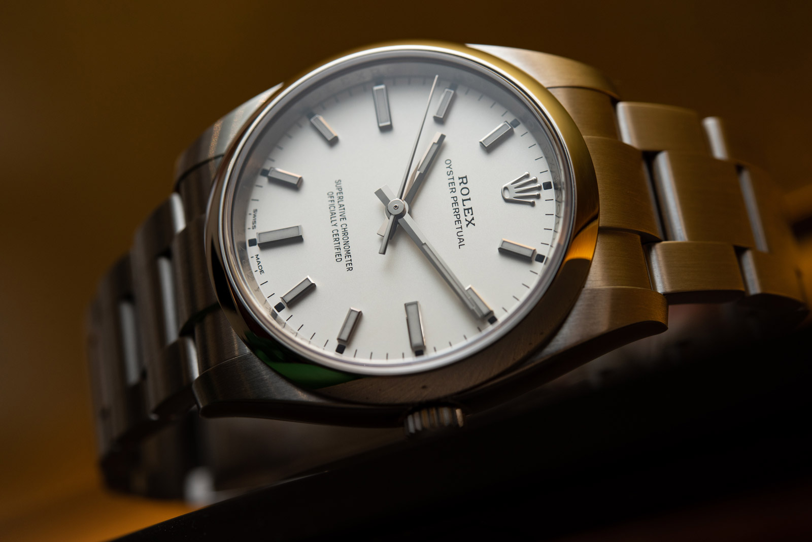Rolex Oyster Perpetual 34 <br> Referenca 114200