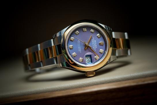 Rolex Lady-Datejust 28 - Lavender dial