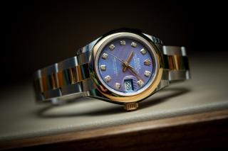 Rolex Lady-Datejust 28 – Brojčanik boje lavande