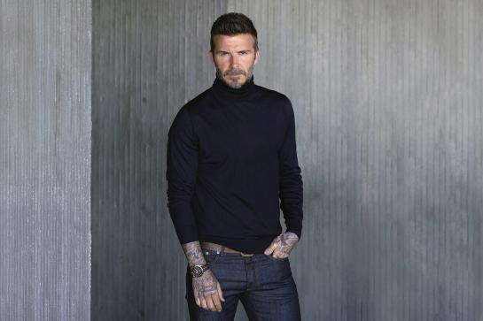 Tudor #Born to Dare - David Beckham