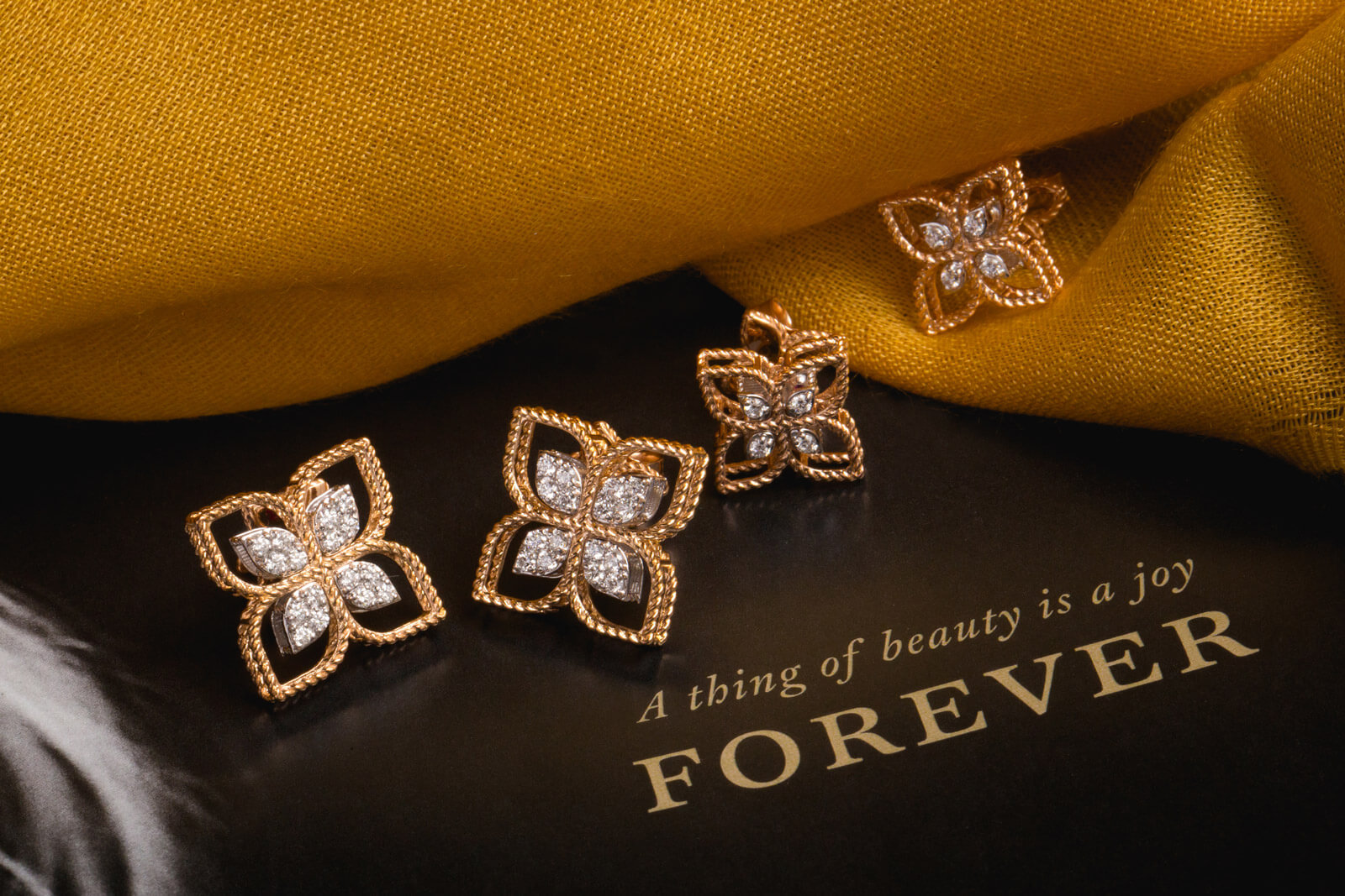 Roberto Coin Princess Flower - Spirit of elegance presented in rose gold