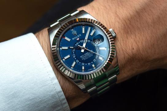 Rolex Sky-Dweller kék számlap – Ref. 326934