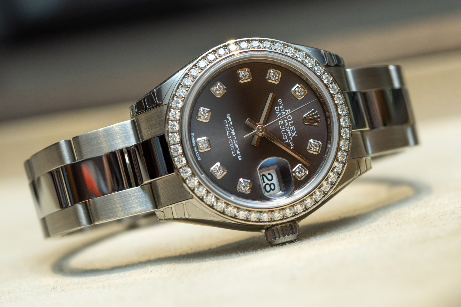 Rolex Lady-Datejust 28 - Ref. 279384RBR