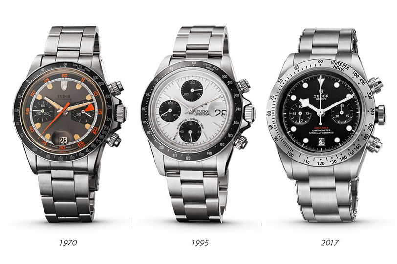 1970-2020, 50 years of Tudor chronographs