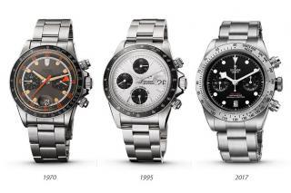 1970-2020, 50 years of Tudor chronographs