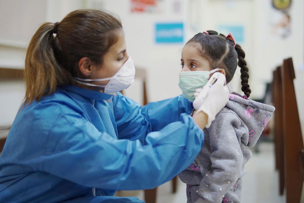 Zajedno sa UNICEF-om Mađarska protiv COVID-19