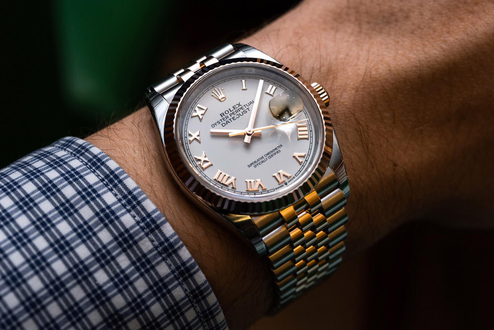 Rolex Datejust 36 <br> Referenca 126231