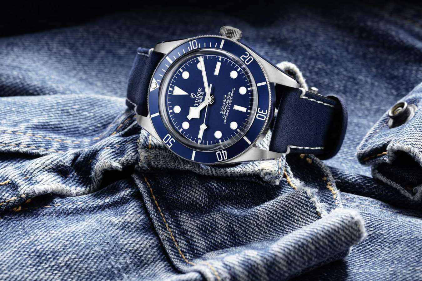 "Tudor novelty for 2020: Black Bay Fifty-Eight ""Navy Blue"""