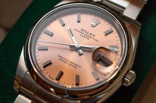 Rolex Date 34 <br> Referenca 115200