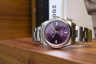 Rolex Oyster Perpetual 39 <br> Referenca 114300