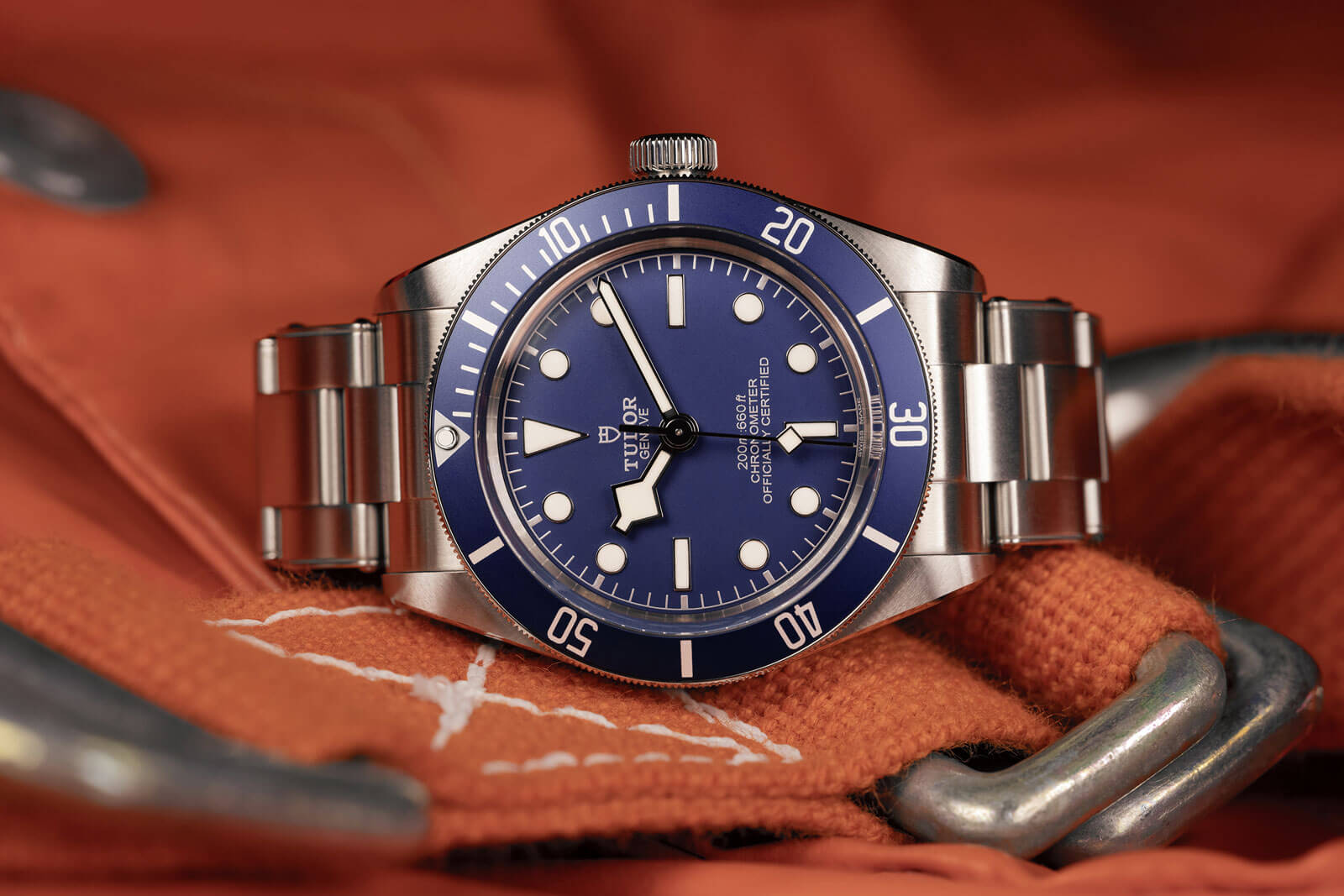 "Tudor Black Bay Fifty-Eight ""Navy Blue"" awarded at the 2020 Grand Prix d'Horlogerie de Genève"