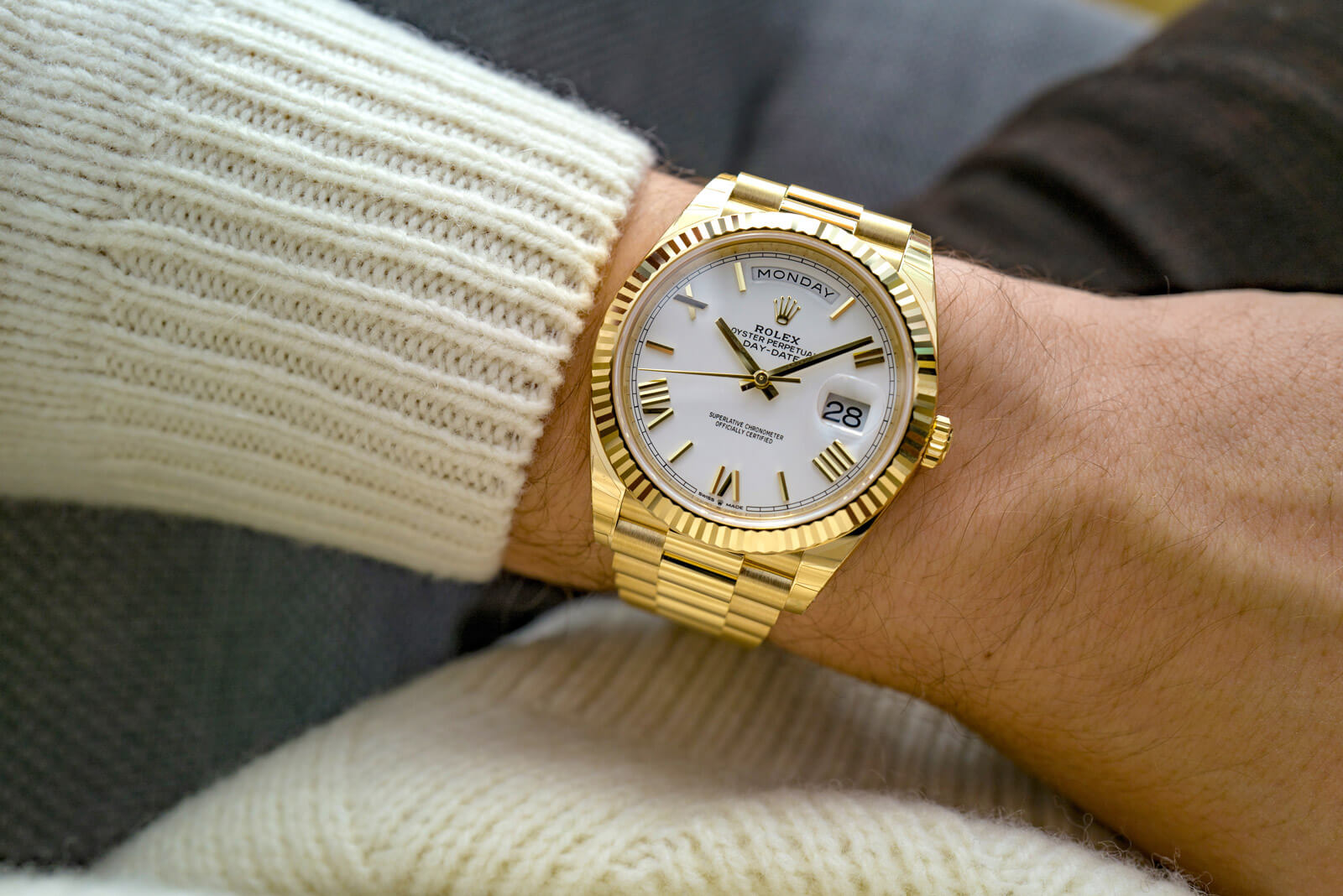 Rolex Day-Date 40 <br> Referenca 228238
