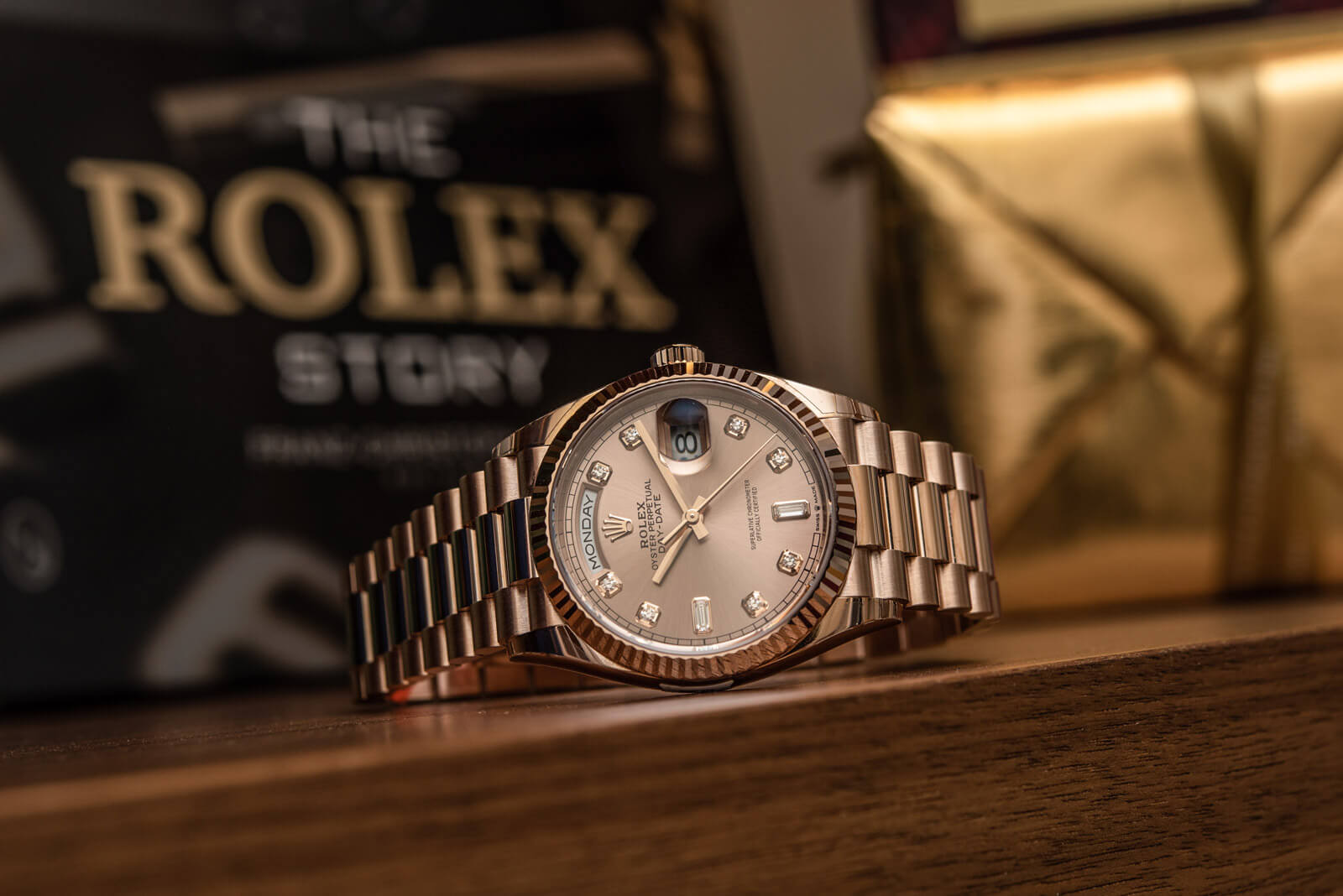 Rolex Day-Date 36 <br> Referenca 128235