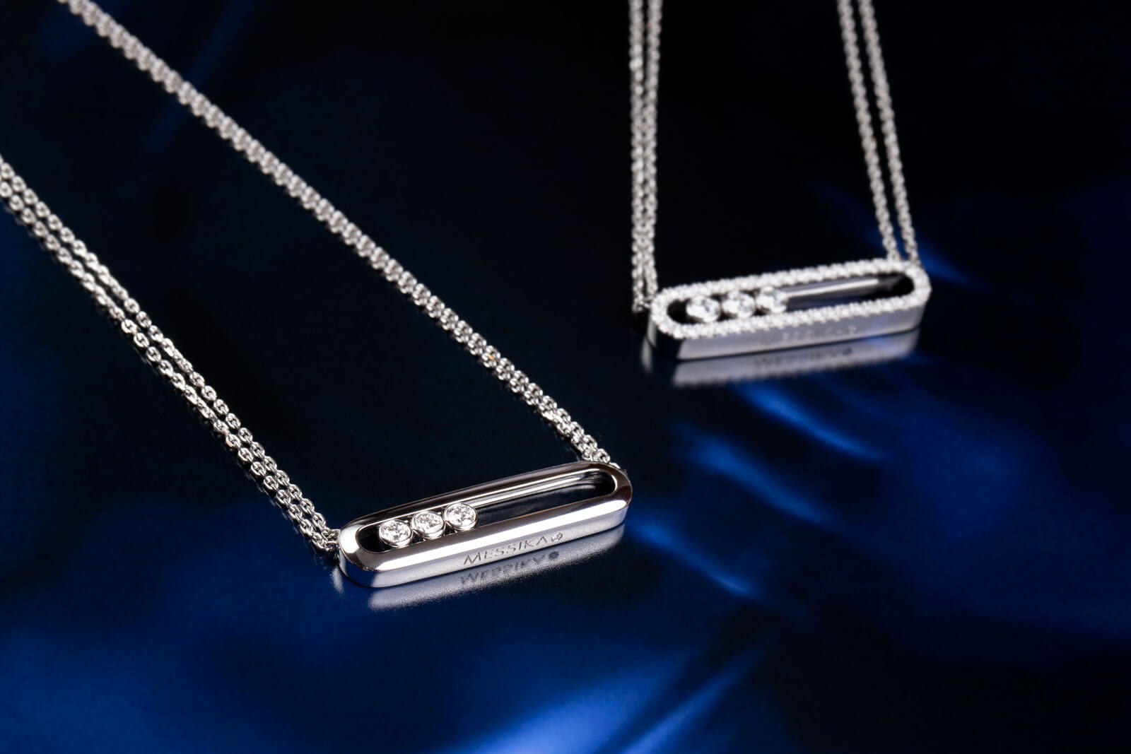 In the spotlight <br>Messika Move necklaces