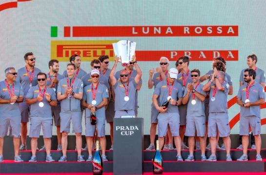 Luna Rossa Prada Pirelli & the Prada cup
